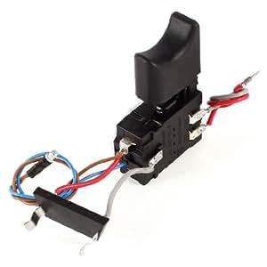 électrique perceuse sans fil Trigger commutateur 5–15A DC 24V 5e4