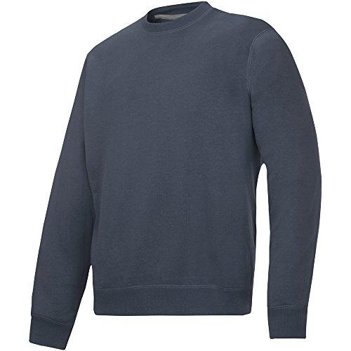 Snickers Rundausschnitt Sweatshirt stahlgrau Größe: L