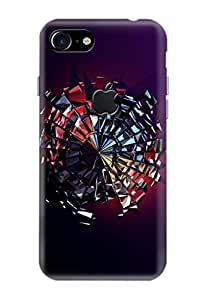 Apple IPhone 7 Covers, Logo Cut Cover, Designer Printed Back Case, Back Cover.