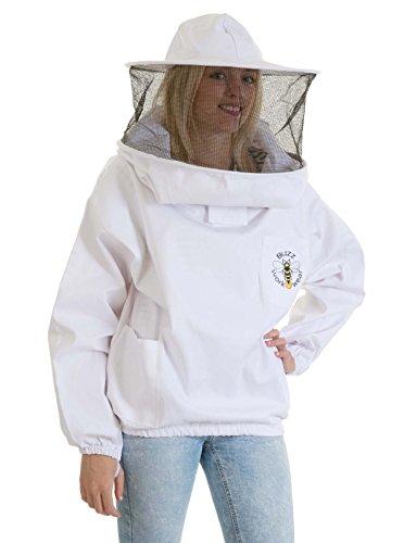 Imker Bienenzüchter Tunika Runder Hut - (Kostüm Imker)