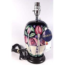 Moorcroft Phoebe Verano Margaritas lámpara Base Forma L102/71st Calidad RRP £ 220.00
