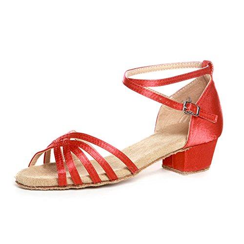 scarpe da ballo latino per bambini/ scarpe latino per bambini per ragazze/ dancing shoes/Scarpe di ballo Ladies P