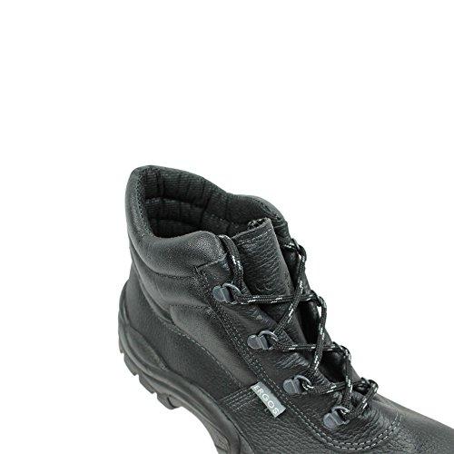 Ergos barcelone 4 chaussures de sécurité norme s3 sRC businessschuhe noir) Schwarz