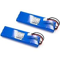 vhbw 2x Ni-MH batería 3000mAh (18V) para Husqvarna Automower 210C, 220AC, 230ACX, 260ACX, G2, SH, Solar Hybrid por 112862101, 1128621-01.