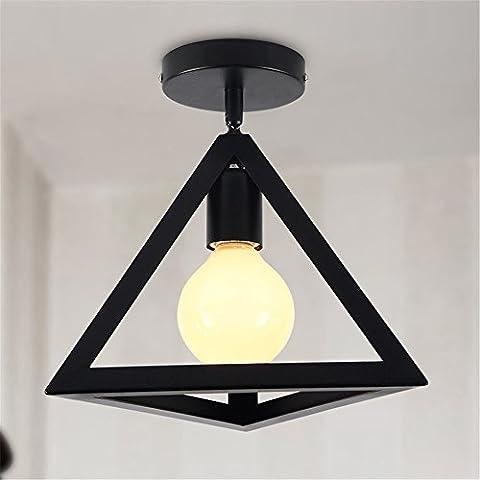 BRIGHTLLT Deckenleuchte retro LED Nordic kreative einfache Eisen Kronleuchter Wohnzimmer