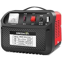 GREENCUT CRB300 Cargador de Batería Multifunción Rojo 22 cm x 20 cm x 17,5 cm