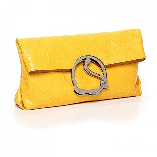Braccialini , Sac à main pour femme unica jaune