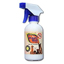 Restwell Flea and Tick Control Spray -225ml-Non Toxic-Ecofriendly