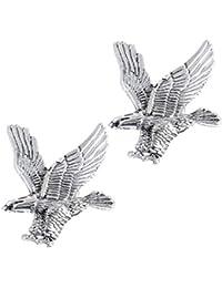 Gold Heftig Adler Form Brosche Stift für Herren Geschenk Kragen Anstecknadel
