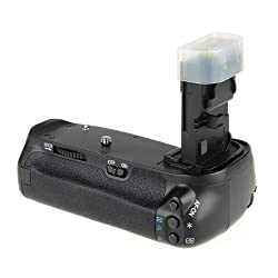 MeiKe Vertical Battery Grip Holder For Canon EOS 70D Camera, Replacement of BG-E14