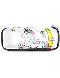 Estuche para lápices con diseño de unicornio para niñas de 7,5 ...