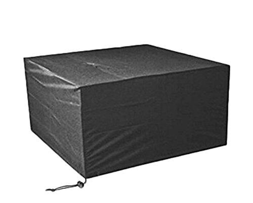 Vommpe Housse de Protection pour Meubles de Jardin en Tissu Oxford rectangulaire Anti-UV imperméable pour Meubles de Jardin M: 213 * 132 * 74cm
