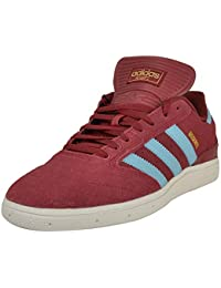 newest fa0b5 9c300 adidas Busenitz Pro Collegiate Burgundy Clear Blue White Shoes Taille US 8,5