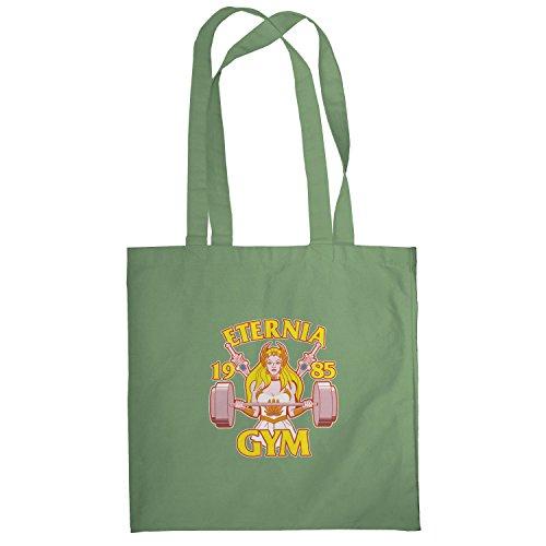 Texlab–She Fitness 1985–sacchetto di stoffa Oliva