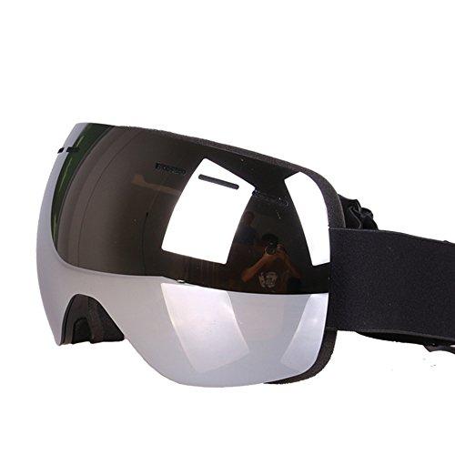 LYLhmj Skibrille Kinder Ski Snowboard Brille Brillenträger Snowboardbrille Schneebrille Verspiegelt - Für Junior Jungen Mädchen Baby Teenager - 3 4 5 6 7 8 9 10 11 12 Jahre - OTG Anti-UV Anti-Fog (Graffit-A)