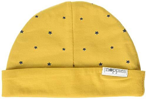 Noppies Unisex Baby Mütze U Hat rev Marjolein AOP Gelb (Honey Yellow C036) One Size...