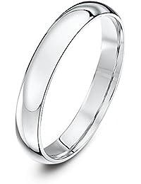 Theia Unisex 14 ct Gold Heavy Court Shape Polished Wedding Ring