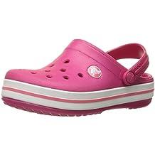 Crocs Crocband Kids, Zuecos Con Correa Infantil