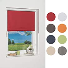 K Home 238154 1 Mini Blind Blackout Fabric, Red, 150 x 40 x 5.7 cm