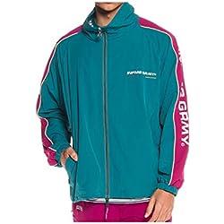 Chaqueta Para Hombre Grimey Track Jacket Counterblow Green Xl