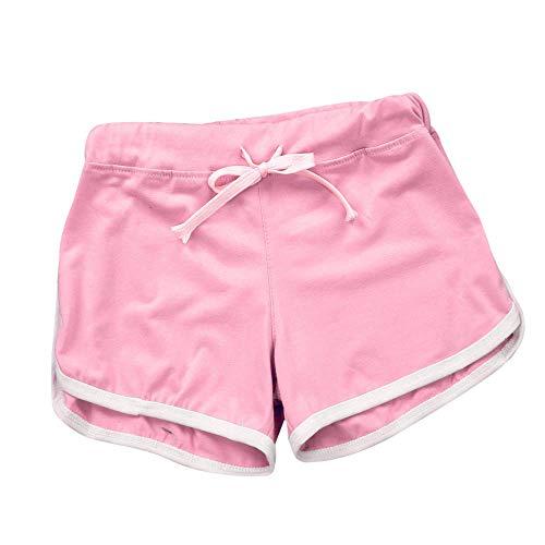 Damen Spitze Shorts Yoga Sporthosen Sommerhosen High Waist Mode Kordelzug Kurze Hose Pants mit Taillenband Elegant Hotpants Strandshorts - Spitze-blickdichte Strumpfhose