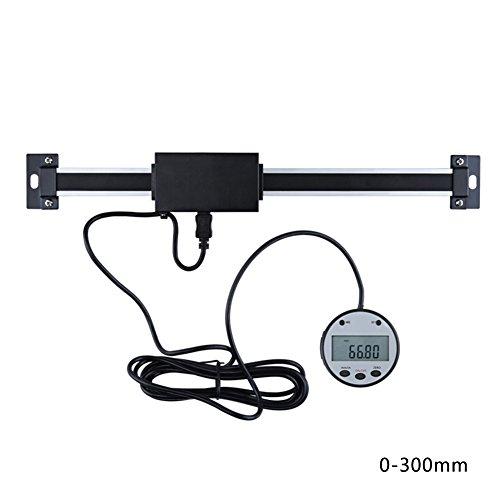 Elec tech Digital Linear Readout Skala Lineal Vertikale Größe Optional 0,01 mm Magnetic Remote External Display Herrscher Werkzeugmaschinen (C) -