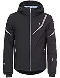 Icepeak Nicolas by Men's Ski Jacket, Version:Standard, Size:54, Quality:839, Parent Colour:Black, Colour:Black