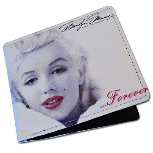 Marilyn Monroe Herren/Damen Portemonnaie (Wallet) Marilyn Monroe Geldbörse Für Männer