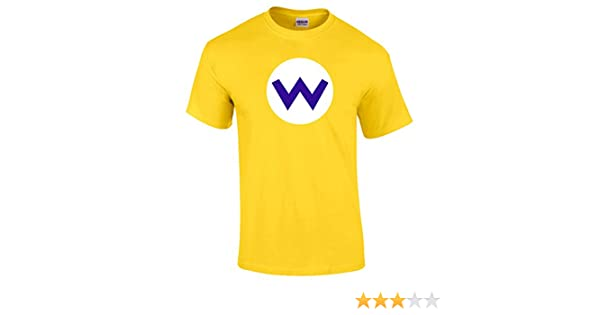 Mario Bros Logo T-Shirt Luigi Wario Waluigi Peach Retro Gaming Unisex Kids New