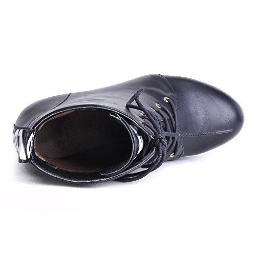 A&N - Scarpe con plateau donna Black