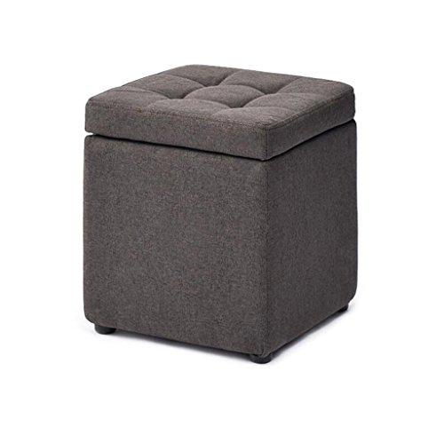 JDⓇ Wohnzimmer Sofa Dressing ändern Schuhe Lagerung Hocker gepolstert Fuß Hocker Hocker Fußstütze Kleiner Stuhl Sitz Hocker Lagerung Sitzsack Fußstütze (30cmx30cmx35cm)