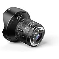 Irix IL-15FF-NF Ultraweitwinkelobjektiv Firefly 15mm f2,4 für Nikon F (95mm Filtergewinde  Vollformat, extrem leicht, optimierter Fokusring)
