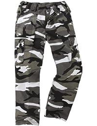 Unknown - Pantalon -  Homme Multicolore Urban Camouflage