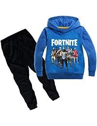 Chándal Niño Sudaderas con Capucha 3D Impresión Unisex Niña Chaqueta Sudaderas y Pantalones de Deporte Suéter