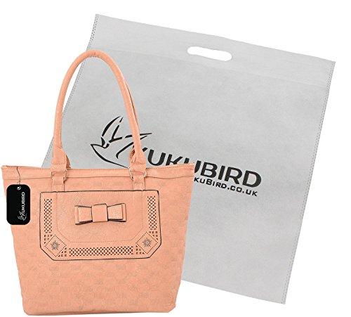 Oficial De Salida Venta De Grandes Ofertas Kukubird Edith Tote Bag borsa Casual tutti i giorni con sacchetto raccoglipolvere Kukubird Beige La Más Nueva piCNhVgP