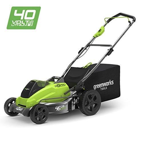 Greenworks Tools 40V Akku-Rasenmäher bürstenloser Motor, 45cm Schnittbreite (ohne Akku und Ladegerät) - 2500407