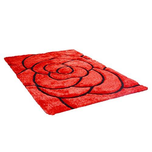 wohnzimmer-schlafzimmer-tur-matte-matte-couchtisch-teppich-rot-rot-polyester-material-blutenblatt-mu