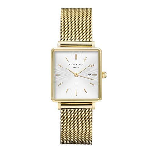 0dec4e64f5a Rosefield Reloj Análogo clásico para Mujer de Cuarzo con Correa en Acero  Inoxidable QWSG-Q03