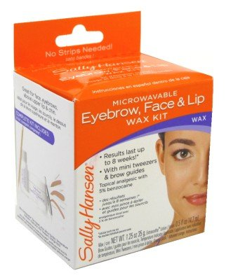 Sally Hansen Micro Eyebrow-Lip & Face Wax (3-Pack)