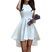 Vestidos para Mujer sin Manga Coctel Vestidos de Fiesta Cortos Vestidos