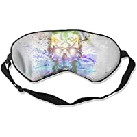 Skull Splash Colorful Art Sleep Eyes Masks - Comfortable Sleeping Mask Eye Cover For Travelling Night Noon Nap... preisvergleich bei billige-tabletten.eu
