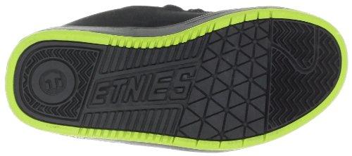 Etnies Kids Fsas X Twitch Fader, Chaussures de sport garçon Noir (Black/Green/White 896)