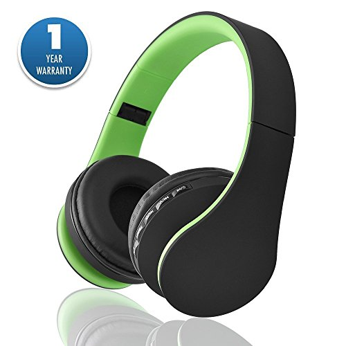 6a6e6b62222 Acid Eye LH-811 Over Ear Bluetooth Headset With Mic - Green For Rs ...