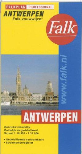 Antwerpen Falk vouwwijze