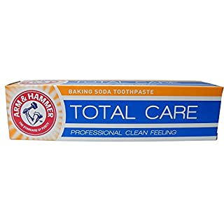 Arm and Hammer Total Care Baking Soda Toothpaste 125grammes (Pack of 6)