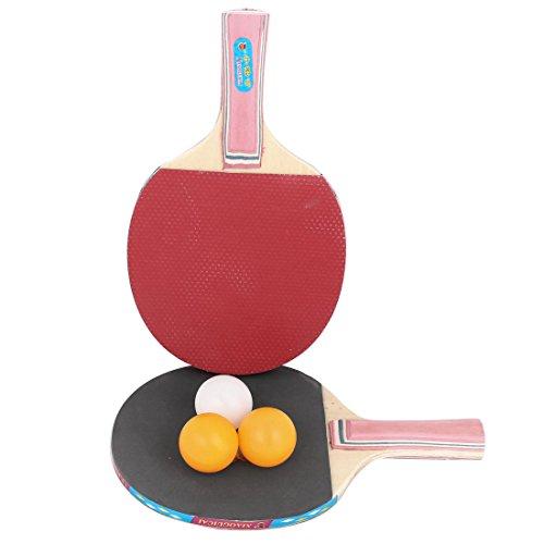 sourcingmapr-2pcs-gomma-rivestita-in-legno-tavolo-tennis-bat-3-ping-pong-sfere-set