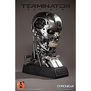 Chronicle Collectibles Terminator Genisys T-800 Endoskeleton Life-Size Bust Prop Replica by Chronicle Collectibles