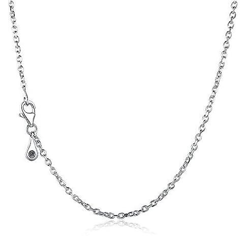 glamulet Jewelry Damen 925Sterling Silber 60cm Halskette
