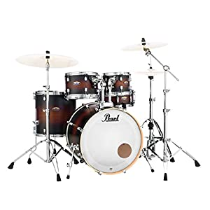 DMP 5pc Shell Pack 2016b/1007t/1208t/1414 F/1455S/hwp830, Satin Brown Burst