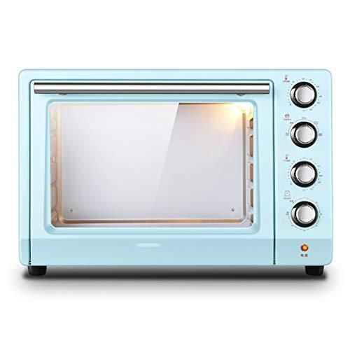 Microwave oven Encimera de Horno Retro Azul compacta, 1800 w de Alta Potencia 1.4 pies cúbicos Horno...